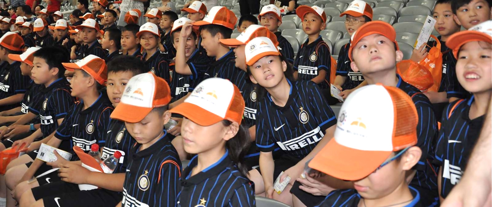 [INTER CAMPUS CHINA EN EL ESTADIO CON LOS CAMPEONES]