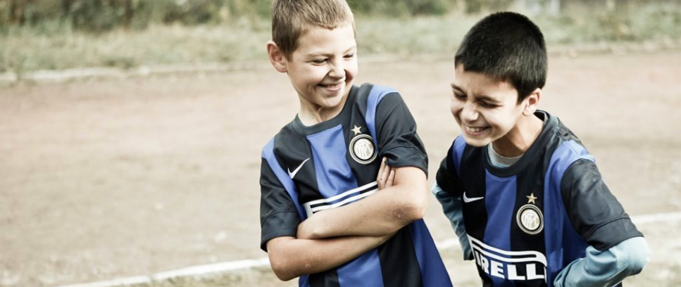 [Nerazzurri friends on and off the pitch]