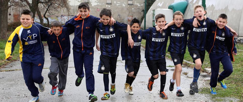 [Inter Campus Bosnia: etnie diverse, un'unica squadra]