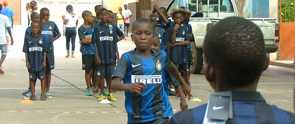 [Allenarsi in Angola con Inter Campus]
