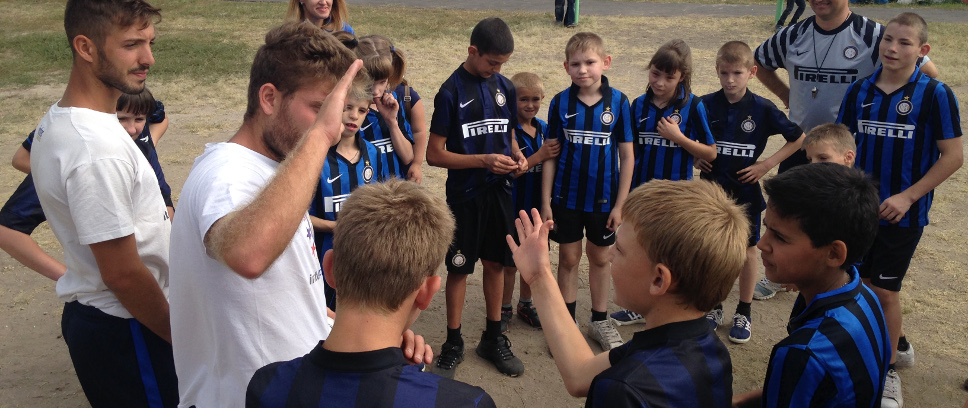 [Inter Campus Russia in campo con Pirelli]