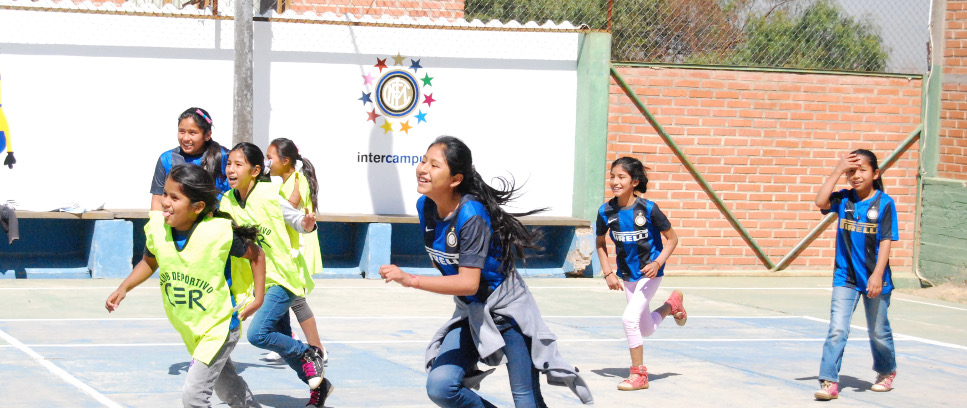 [Inter Campus Bolivia, determination and passion of women]