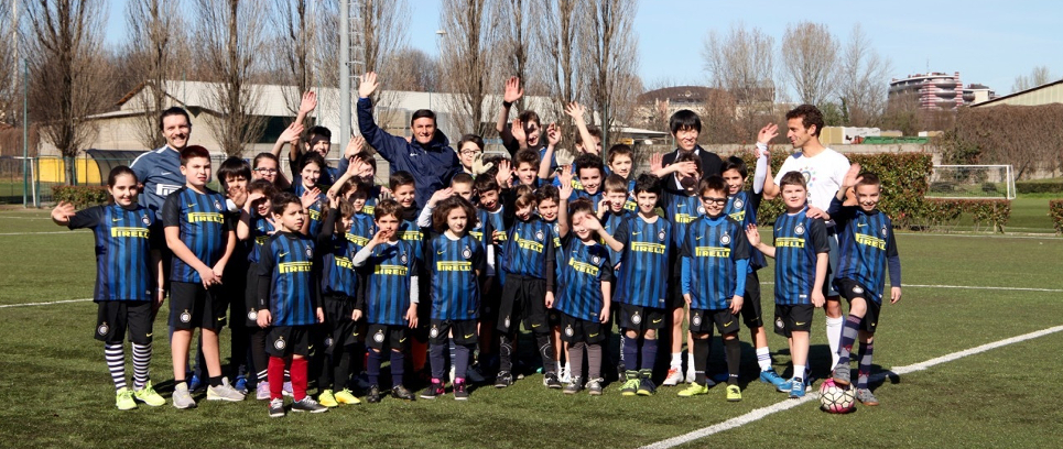 [INTER CAMPUS ITALY WITH ZANETTI AND PARK JI SUNG]