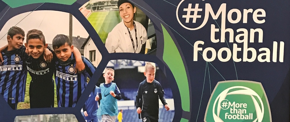 [Inter Campus al forum europeo su calcio e sostenibilità]