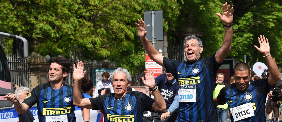 [INTER FOREVER AND INTER CAMPUS TEAM UP FOR MARATHON]