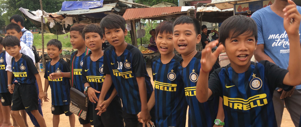 [INTER CAMPUS CAMBODIA HARD AT WORK IN RONG]