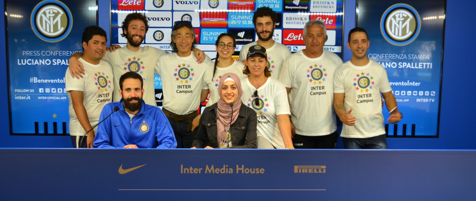 [INTER CAMPUS COACHES. FROM ACROSS THE WORLD TO MILAN]