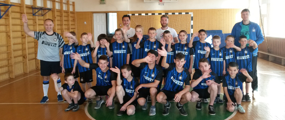 [WITH INTER CAMPUS IN THE ORPHANAGES OF VORONEZH AND BABROV]