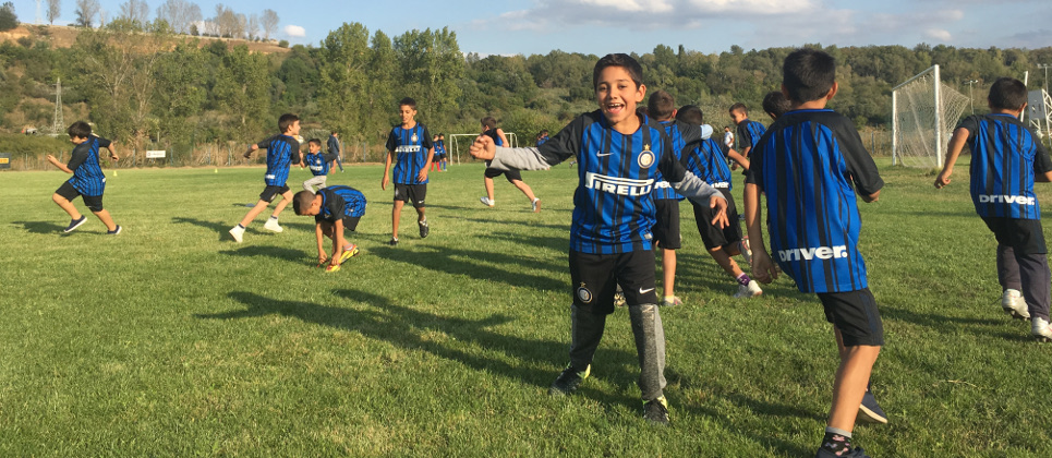 [CHILDREN BECOME THE STARS AT INTER CAMPUS ROMANIA]