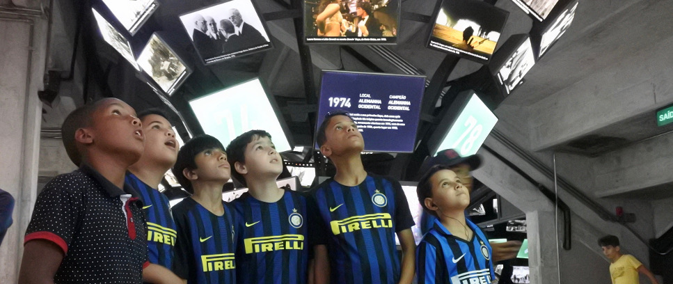 [INTER CAMPUS VISIT BRAZIL'S FOOTBALL MUSEUM]
