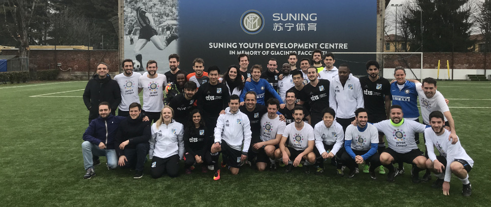 [FIFA MASTER GRADUATES TOGETHER WITH ZANETTI AND INTER CAMPUS]