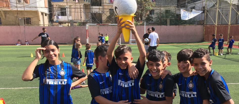 [INTER CAMPUS IN SHATILA, THE AIR OF LIBERTY]