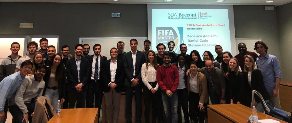 [Inter Campus al Master FIFA in SDA Bocconi]