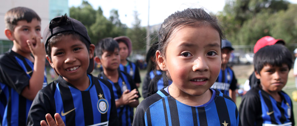 [INTER CAMPUS AT THE FOOT OF THE ANDES]