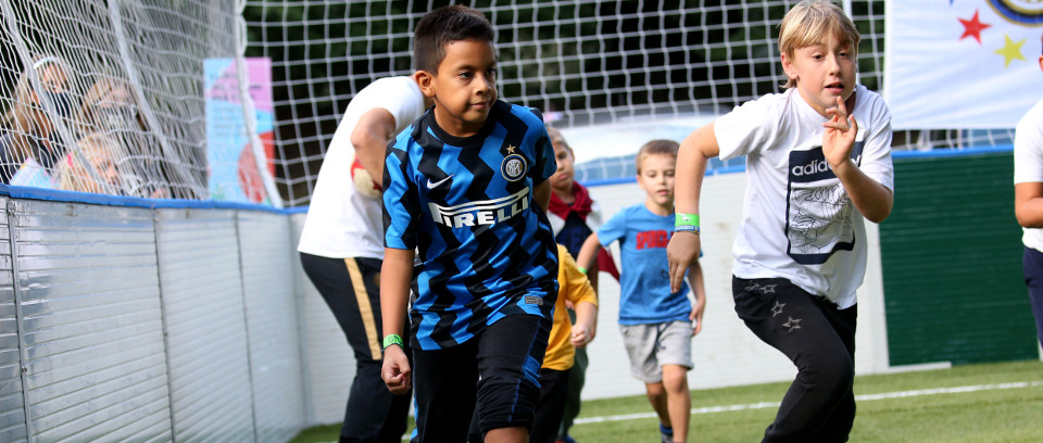 [INTER CAMPUS AND MILAN'S PLAYGROUNDS]