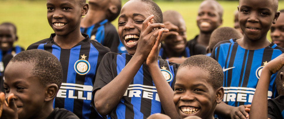 [INTER CAMPUS AND THE UEFA FOUNDATION CONTINUE THEIR INVOLVEMENT IN AFRICA]
