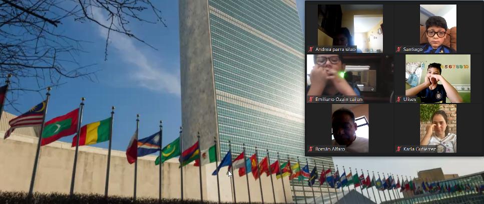 [I bambini di Inter Campus visitano le Nazioni Unite]