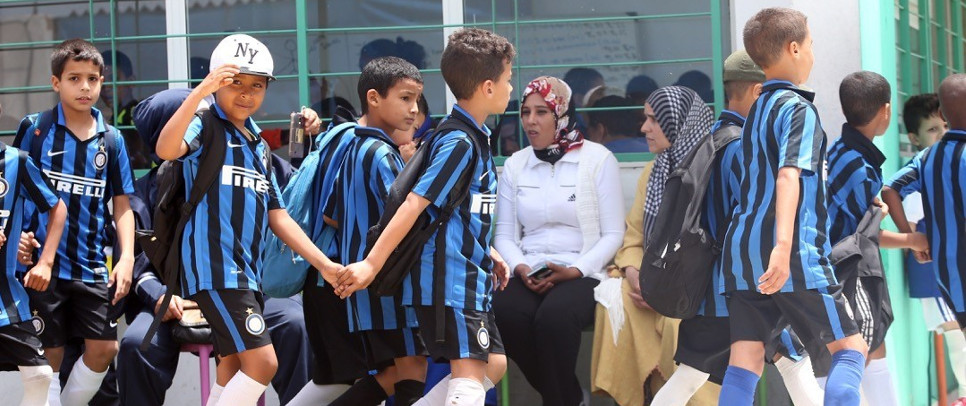 [INTER CAMPUS MOROCCO AND TUNISIA, ON THE SAME FIELD OF PLAY]