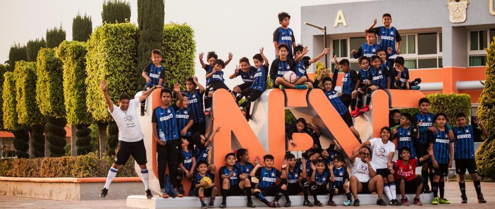 [Inter Campus Messico, dieci anni insieme a UNEVE, istituzione accademica di prestigio, a beneficio di bambine e bambini, delle loro famiglie e della comunità locale]